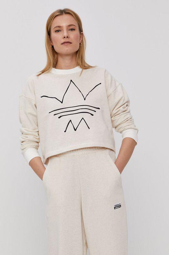 bej adidas Originals - Bluza De femei