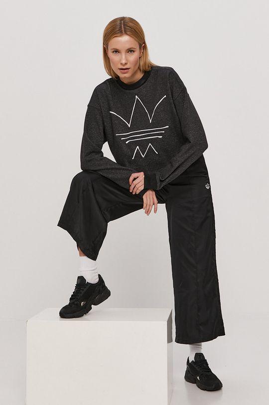 szary adidas Originals - Bluza Damski