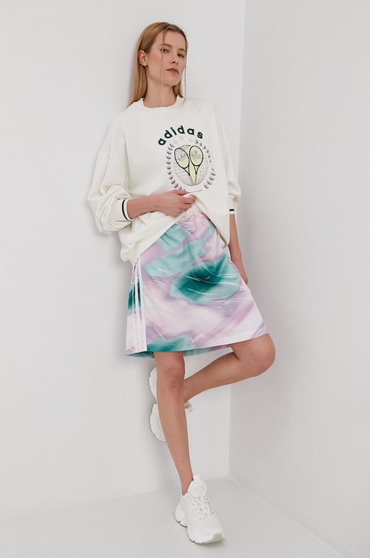 adidas Originals - Bluza GRAPHIC biały