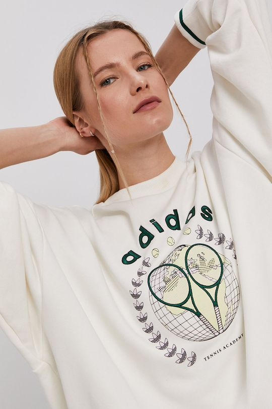biały adidas Originals - Bluza GRAPHIC