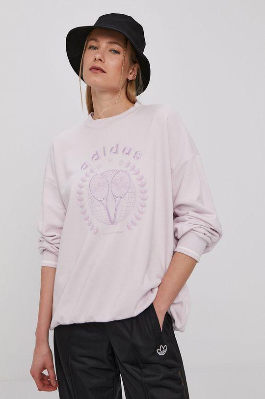 adidas Originals - Bluza GRAPHIC lawendowy