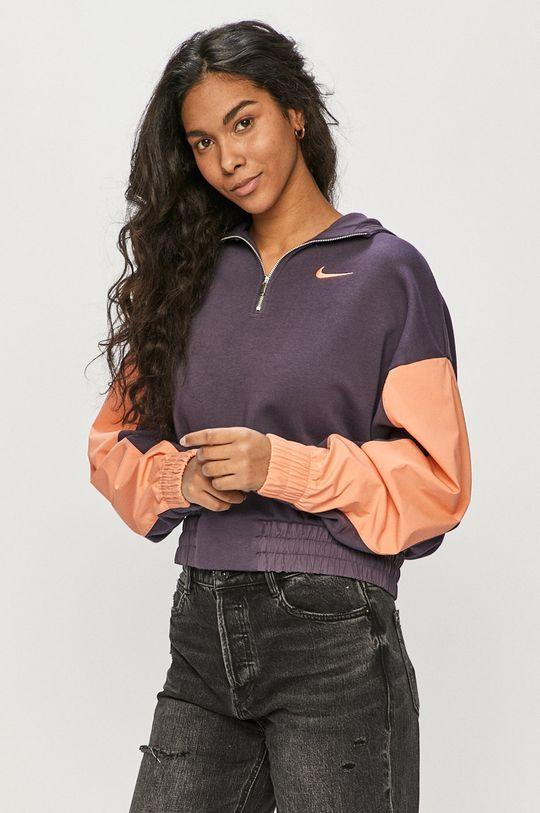 purpurowy Nike Sportswear - Bluza Damski