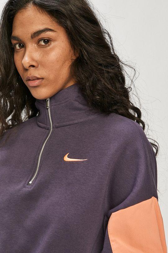 purpurowy Nike Sportswear - Bluza
