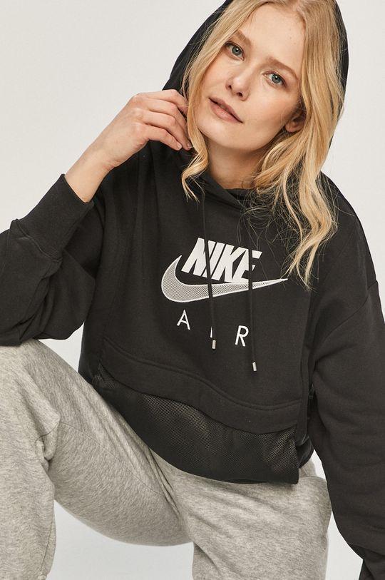 čierna Nike Sportswear - Mikina Dámsky