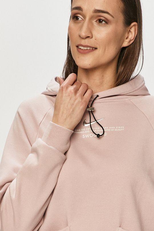 ružová Nike Sportswear - Mikina