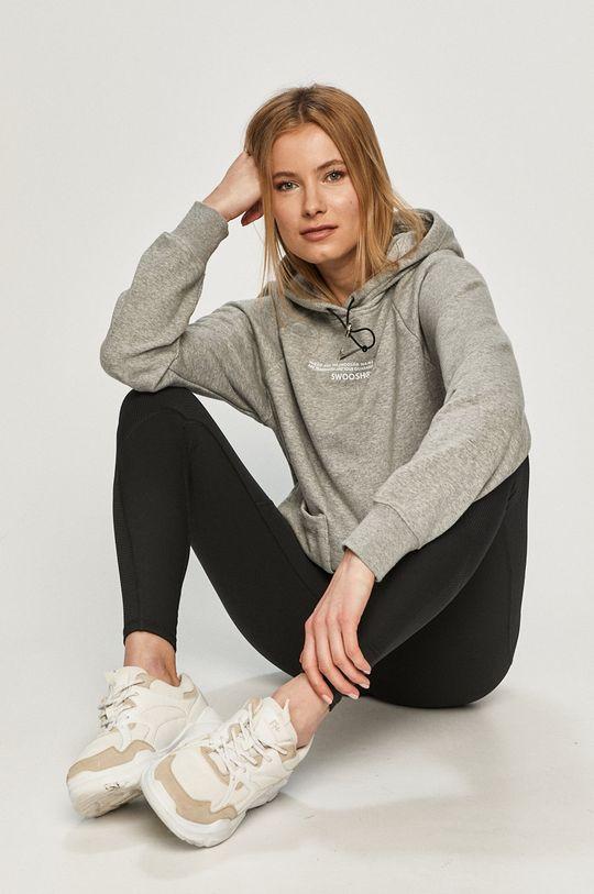 sivá Nike Sportswear - Mikina Dámsky