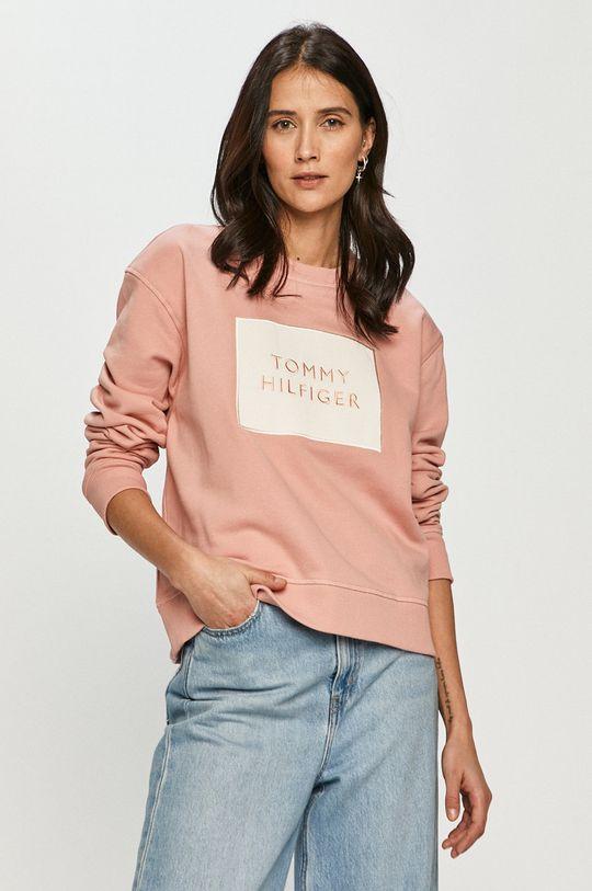 růžová Tommy Hilfiger - Mikina Dámský