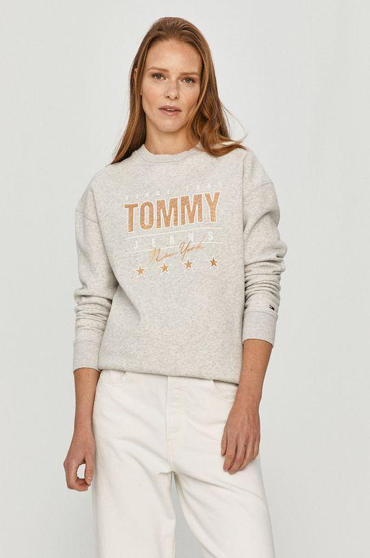 sivá Tommy Jeans - Mikina Dámsky