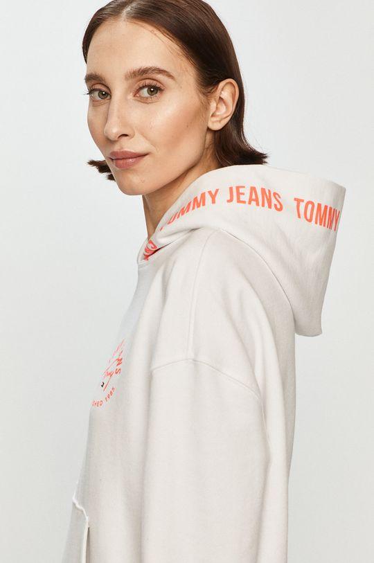 bílá Tommy Jeans - Bavlněná mikina Dámský