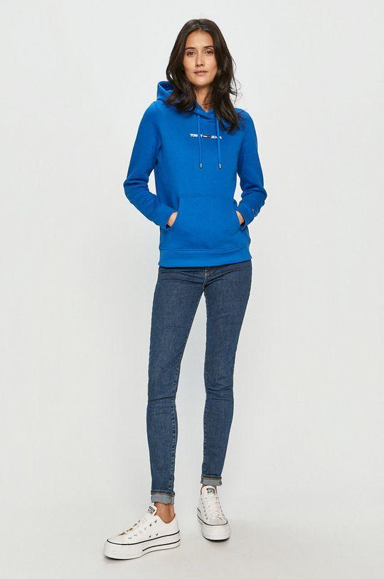 Tommy Jeans - Bluza niebieski