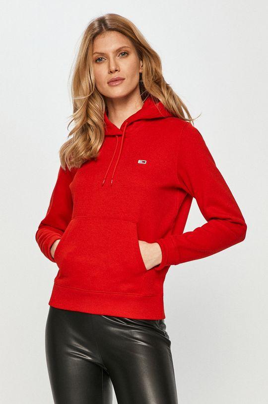 červená Tommy Jeans - Mikina