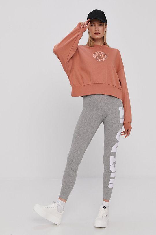 Nike Sportswear - Mikina hnedá