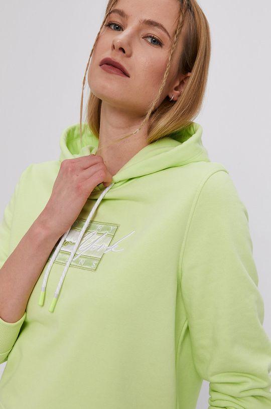 žlto-zelená Tommy Jeans - Mikina