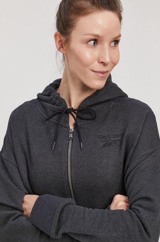 szary Reebok - Bluza