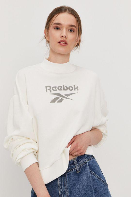 bílá Reebok Classic - Bavlněná mikina Dámský
