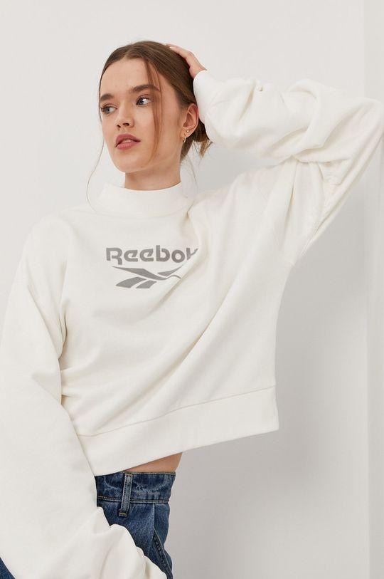 bílá Reebok Classic - Bavlněná mikina