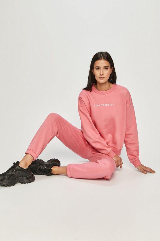 sýto ružová 4F - Mikina Dámsky