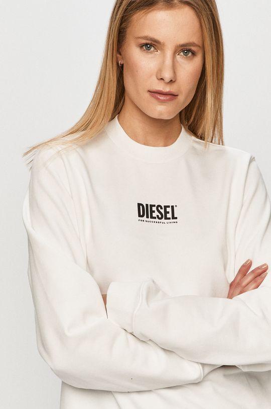 biela Diesel - Bavlnená mikina