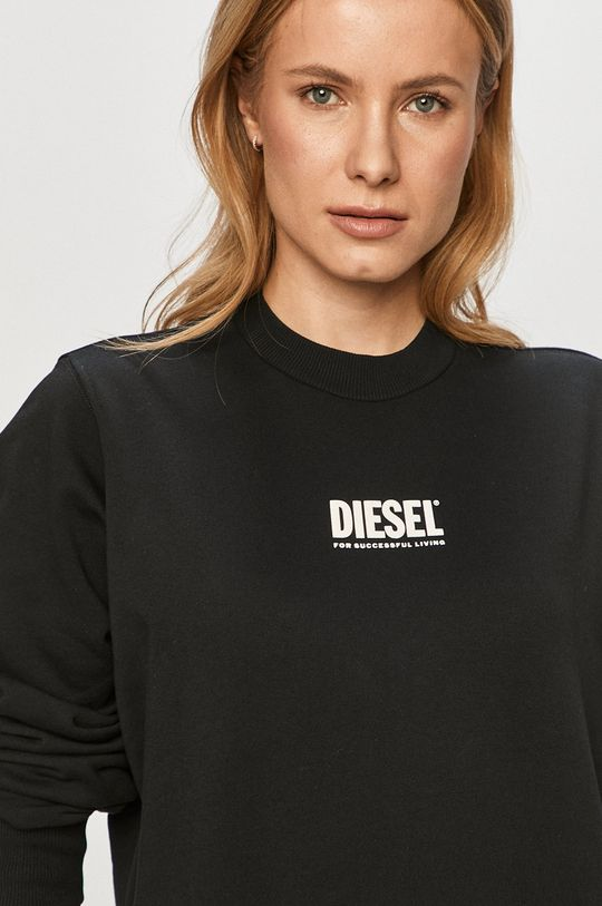 černá Diesel - Bavlněná mikina
