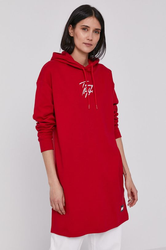czerwony Tommy Hilfiger - Sukienka Damski