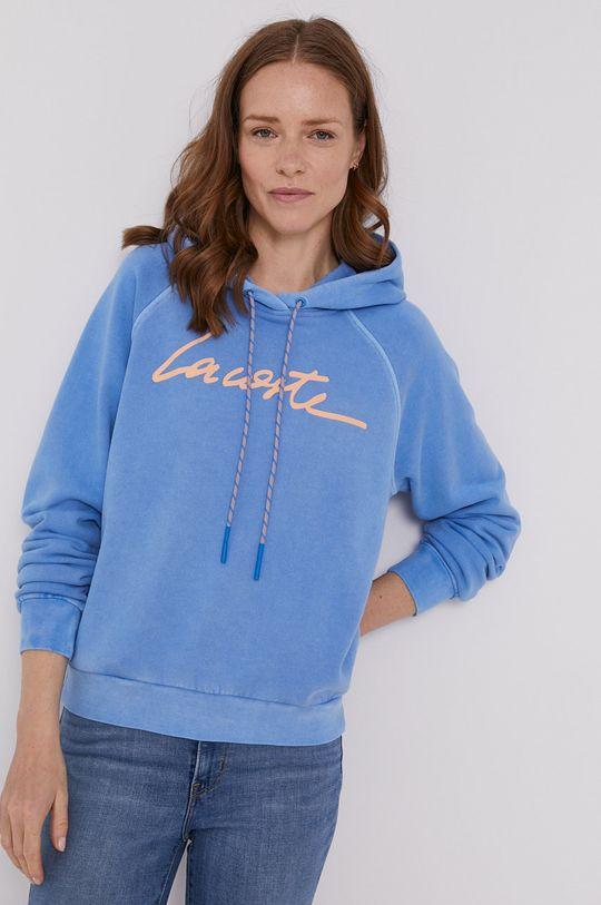 niebieski Lacoste - Bluza bawełniana Damski
