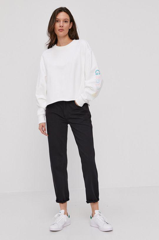 GAP - Bluza bawełniana biały