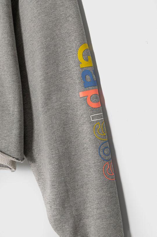 GAP - Bavlněná mikina šedá