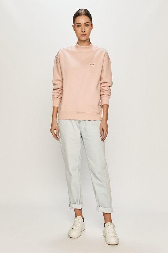 Dickies - Bluza pastelowy różowy
