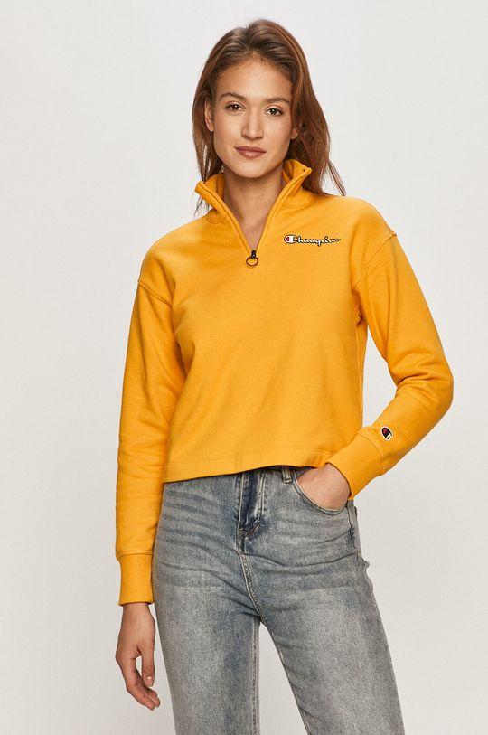 žltá Champion - Bavlnená blúzka Dámsky