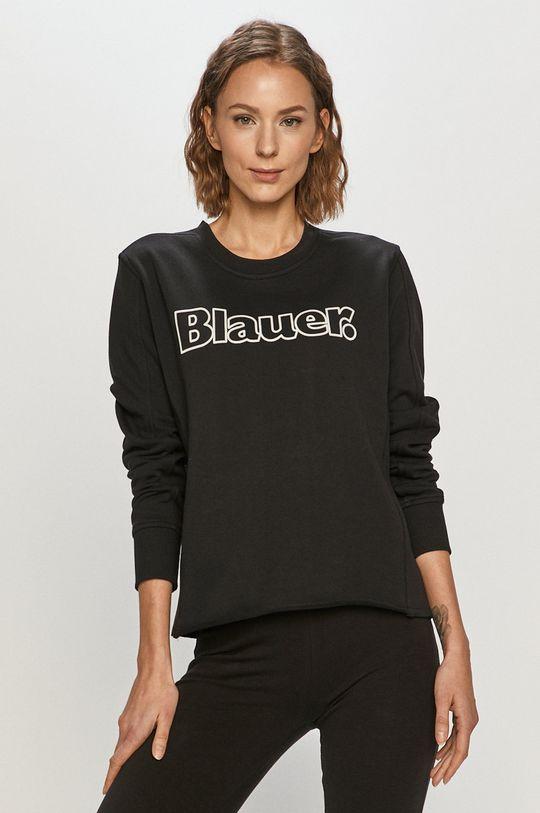 czarny Blauer - Bluza Damski