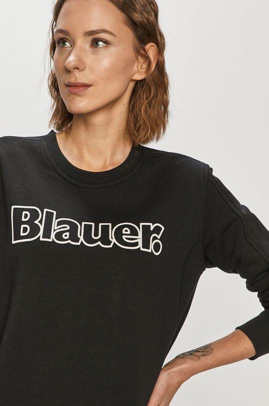 czarny Blauer - Bluza