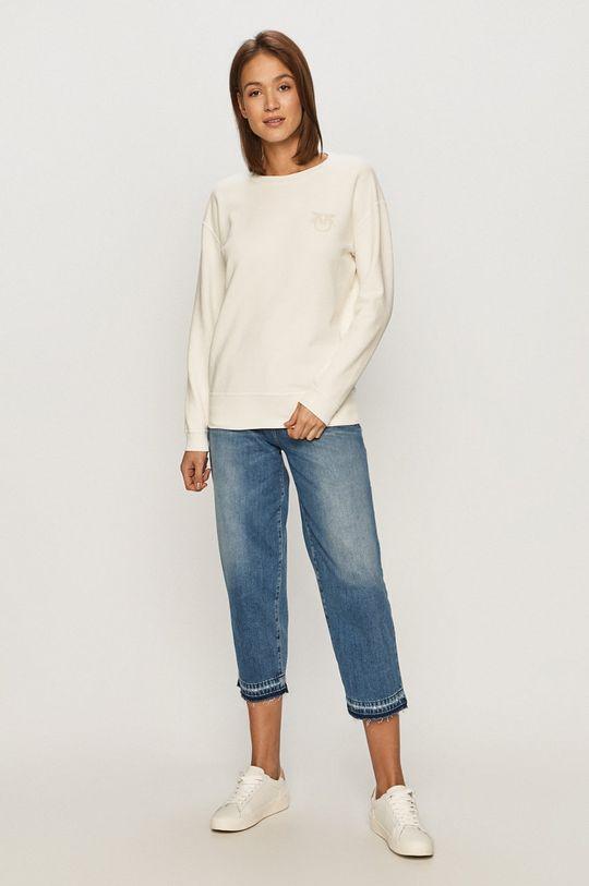 Pinko - Bluza bawełniana biały