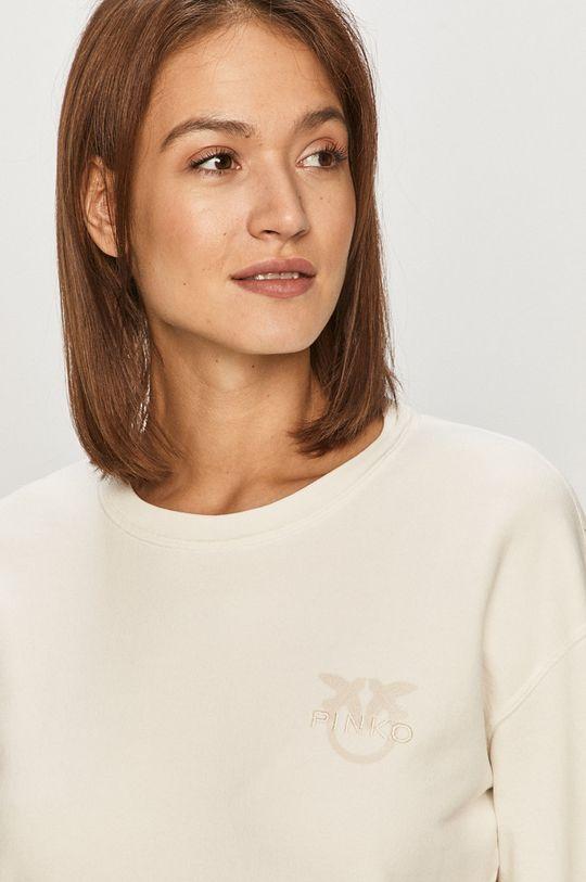 biały Pinko - Bluza bawełniana