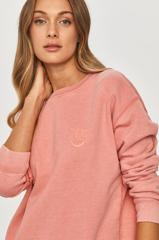 koralowy Pinko - Bluza bawełniana