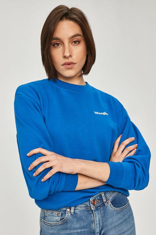 Wrangler - Bluza niebieski