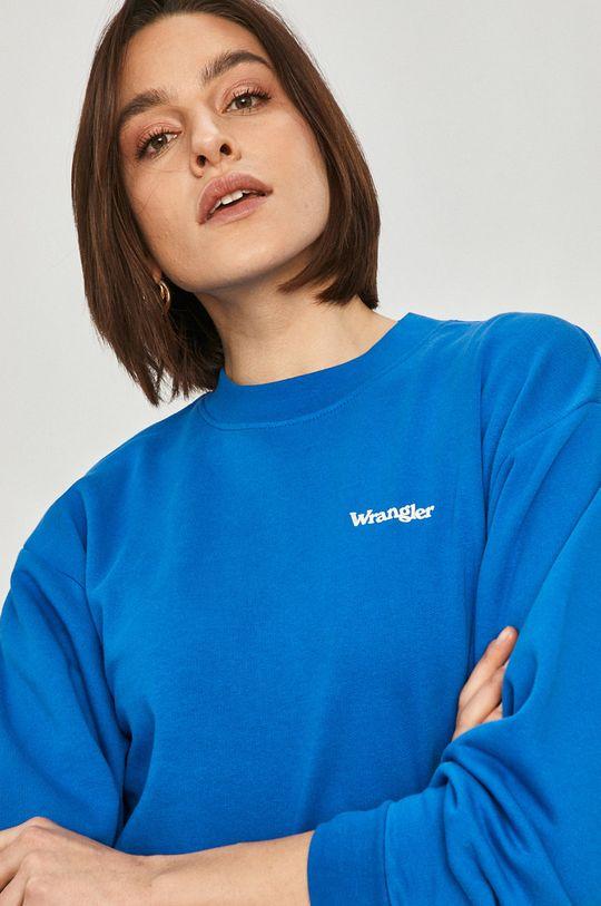 niebieski Wrangler - Bluza