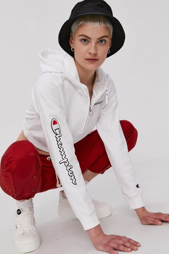 biela Champion - Bavlnená mikina Dámsky