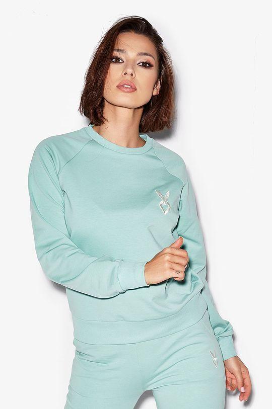 jasny turkusowy Cardio Bunny - Bluza LOLLY