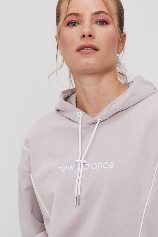 levandulová New Balance - Mikina