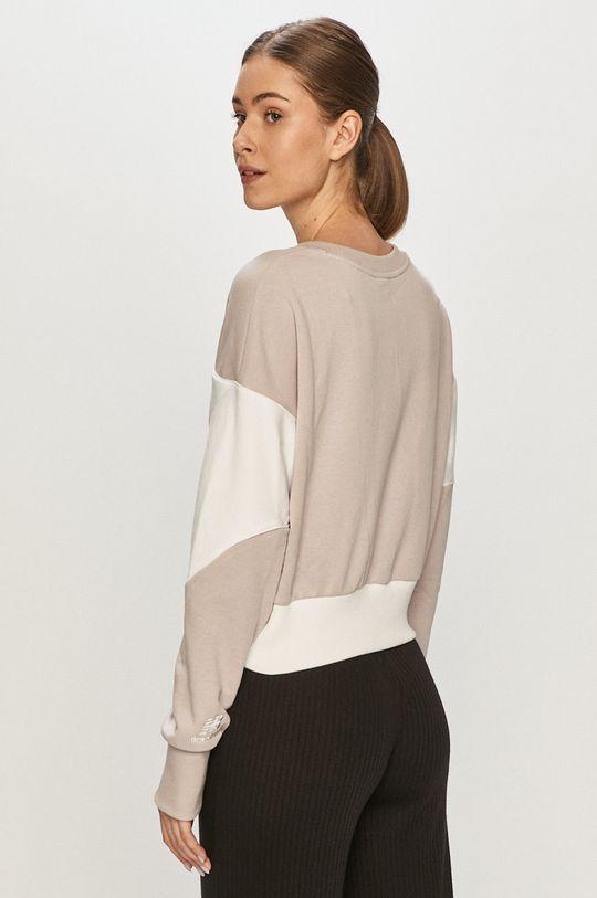 New Balance - Bluza bawełniana 100 % Bawełna