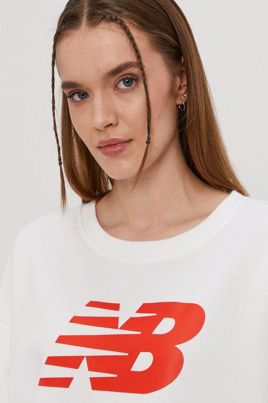 biały New Balance - Bluza