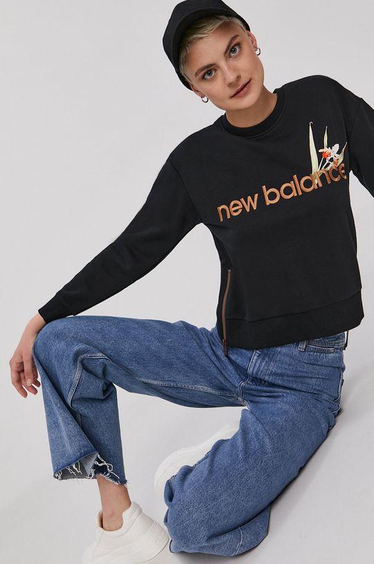 New Balance - Mikina čierna