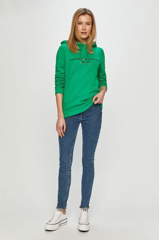 Tommy Hilfiger - Bluza verde