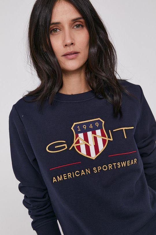 granatowy Gant - Bluza