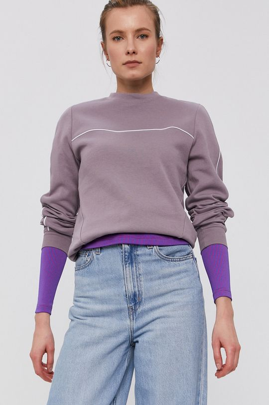 fialová Nike Sportswear - Mikina Dámsky