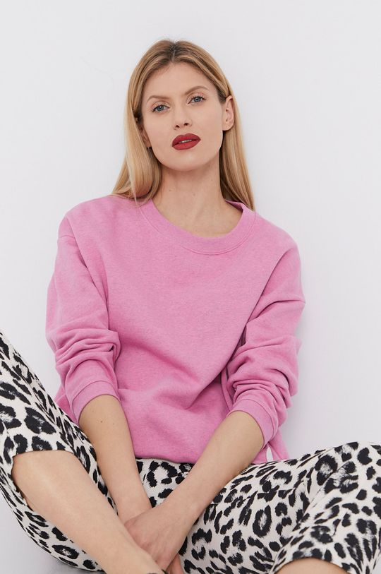 ružová BIMBA Y LOLA - Bavlnená mikina