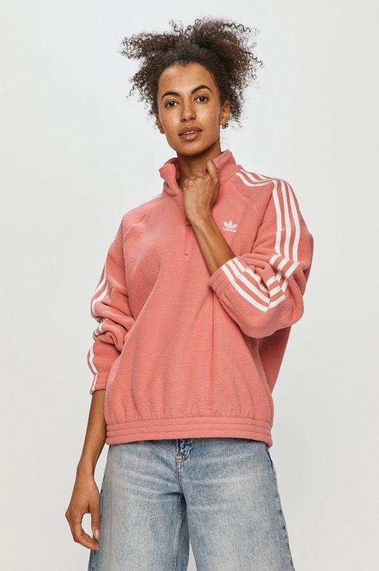 ostrá růžová adidas Originals - Mikina Dámský