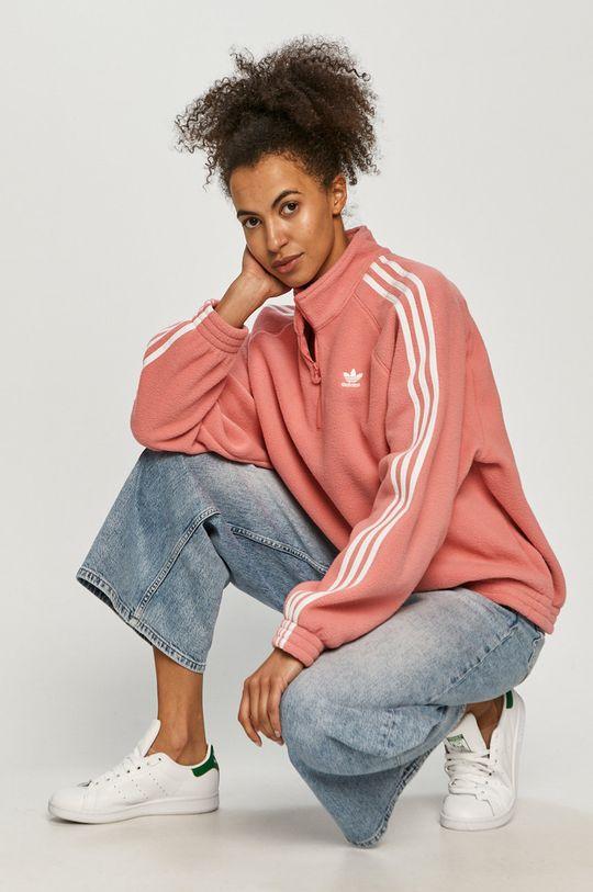 ostrá růžová adidas Originals - Mikina