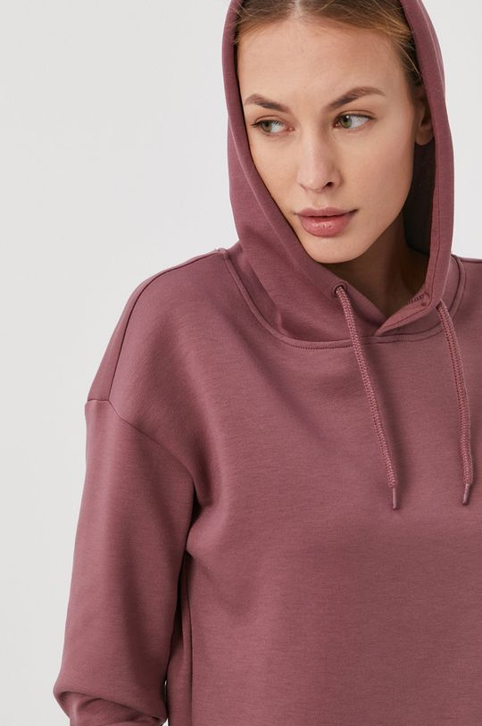 fiołkowo różowy Only Play - Bluza