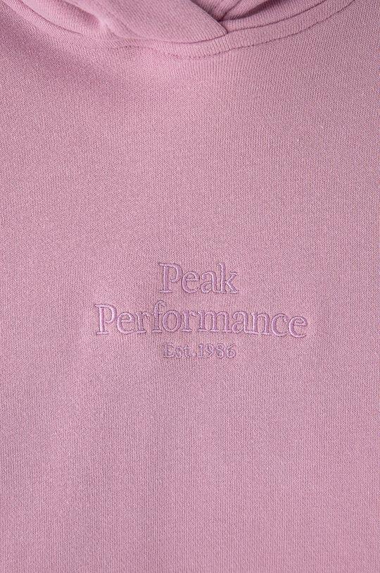 Peak Performance - Bluza bawełniana 100 % Bawełna